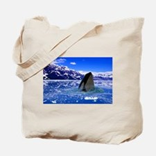The Orca Whale In The Arctic Tote Bag