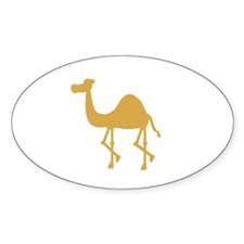 Camel Oval Decal