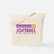 Softball Princess Tote Bag