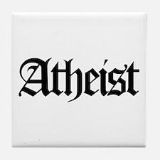 Official Atheist Tile Coaster