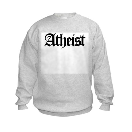 Official Atheist Kids Sweatshirt