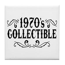 1970's Collectible Birthday Tile Coaster