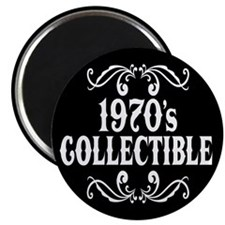 """1970's Collectible Birthday 2.25"""" Magnet (10 pack)"""