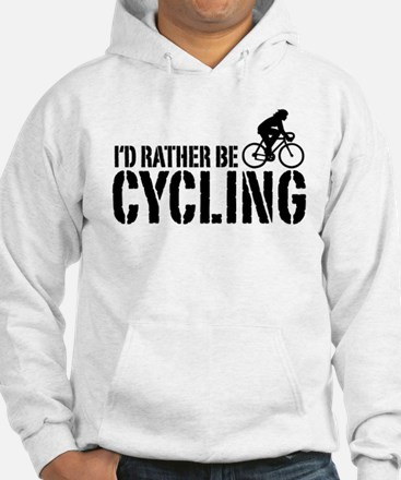 I'd Rather Be Cycling (Female) Hoodie
