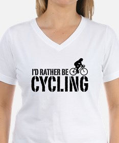 I'd Rather Be Cycling (Female) Shirt