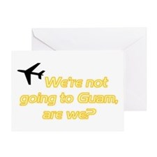 Not Guam Greeting Card