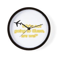 Not Guam Wall Clock