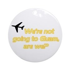 Not Guam Ornament (Round)