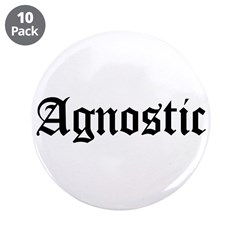 """Agnostic 3.5"""" Button (10 pack)"""