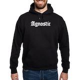 Agnostic freethinker skeptic Hoodie (dark)