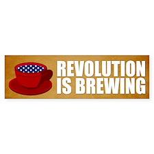 Tea Party Revolution Bumper Bumper Sticker