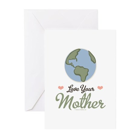 Love Your Mother Earth Greeting Cards (Pk of 20)