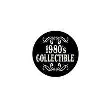 1980's Collectible Birthday Mini Button (10 pack)