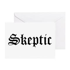 Skeptic Greeting Card