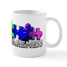 3D Rainbow Puzzle Mug