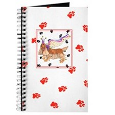 Gulliver's Angels Sussex Spaniel Red Paws Journal