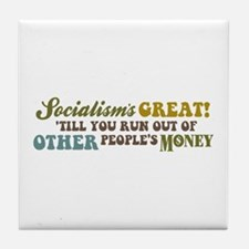 Socialism's Great! II Tile Coaster