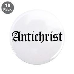 """Antichrist 3.5"""" Button (10 pack)"""
