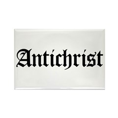 Antichrist Rectangle Magnet