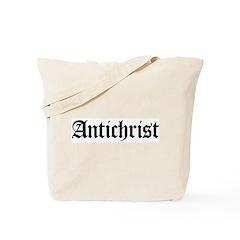 Antichrist Tote Bag