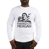 Raised on reagan Long Sleeve T-shirts