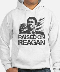 Raised on Reagan Hoodie