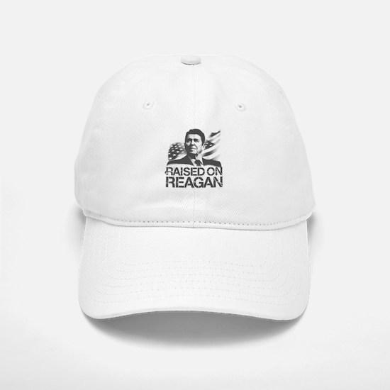 Raised on Reagan Baseball Baseball Cap