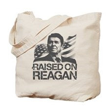 Raised on Reagan Tote Bag