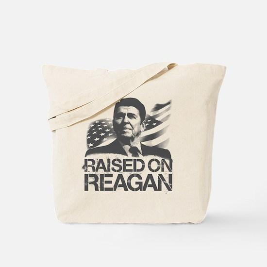 Raised on Reagan Tote Bag