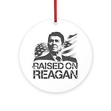 Raised on Reagan Ornament (Round)