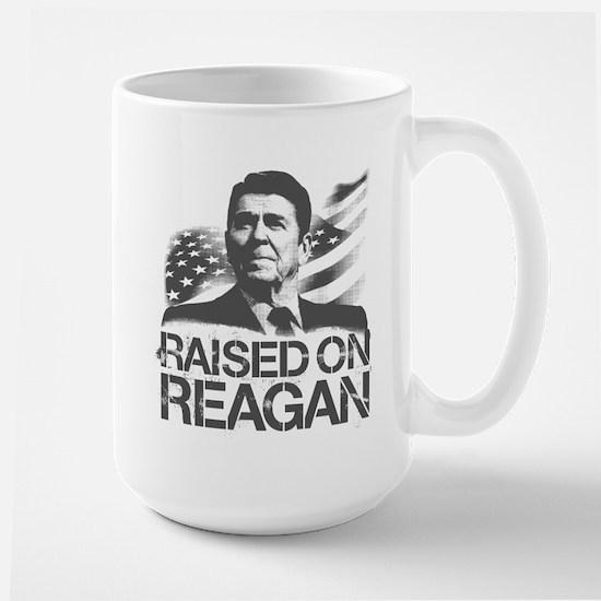 Raised on Reagan Large Mug