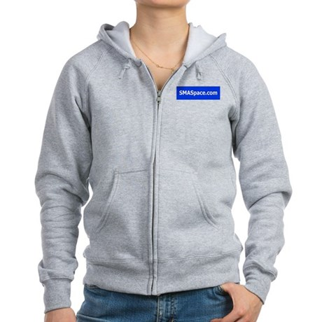 You Are Not Alone Women's Zip Hoodie