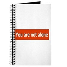 You Are Not Alone Journal