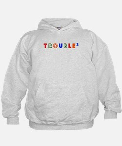 Twins - Trouble (squared) Hoodie