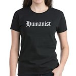 Humanist Women's Dark T-Shirt
