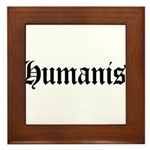 Humanist Framed Tile