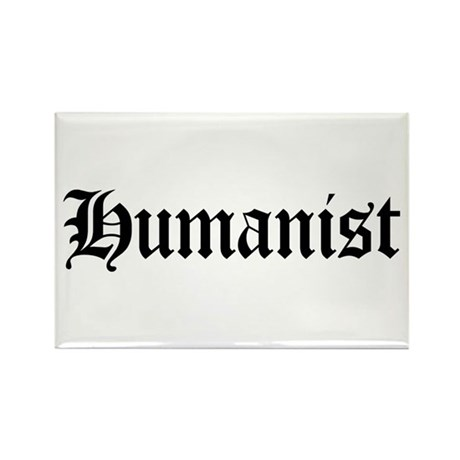 Humanist Rectangle Magnet