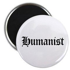 "Humanist 2.25"" Magnet (10 pack)"