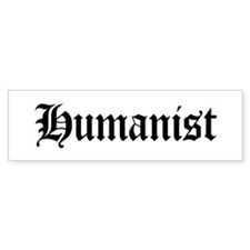 Humanist Bumper Bumper Sticker
