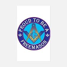 Masonic Pride Rectangle Decal