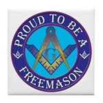 Masonic Pride Tile Coaster