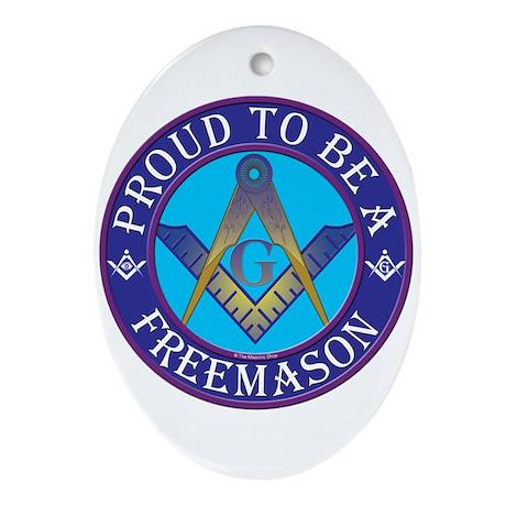 Masonic Pride Oval Ornament