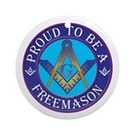 Masonic Pride Ornament (Round)