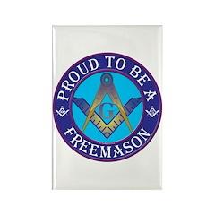 Masonic Pride Rectangle Magnet