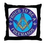 Masonic Pride Throw Pillow