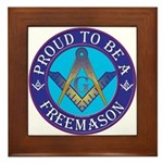Masonic Pride Framed Tile