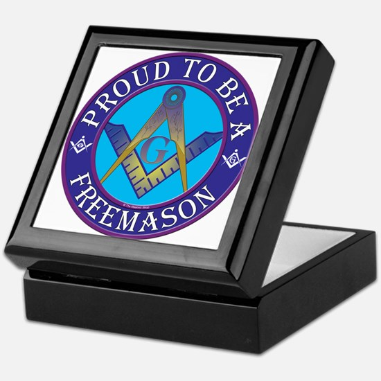 Masonic Pride Keepsake Box