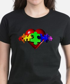 3D Heart Puzzle Tee