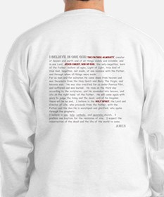 Nicene Creed Two Sided Sweater