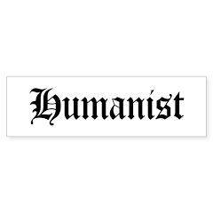 Humanist Bumper Sticker (10 pk)